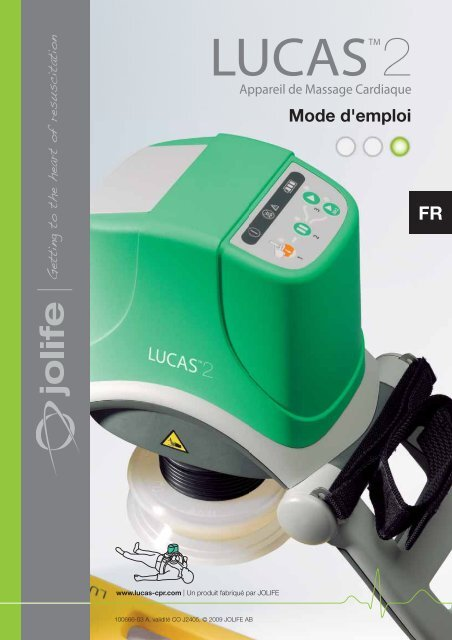 Mode d'emploi compression thoracique LUCAS 2 ... - Physio-Control