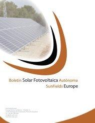 Manual cálculo instalaciones fotovoltaicas ... - SunFields Europe