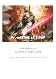 Projekt MUSE 3DGP Projekt MUSE 3DGP - Index of