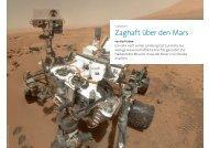 Zaghaft über den Mars – ein Jahr Curiosity - Die Fachwerkstatt