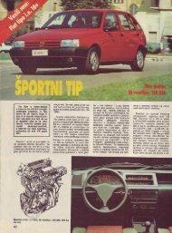 Prenesi PDF testa Fiat Fiat Tipo i.e. 16V - Avto Magazin