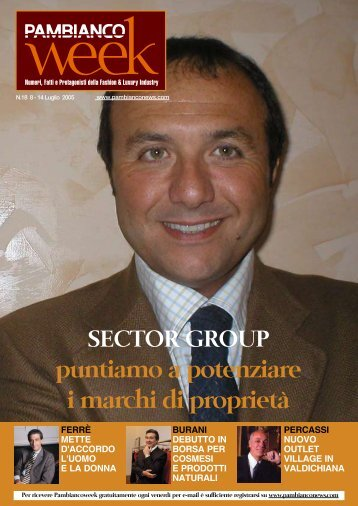 Sector Group - Pambianconews