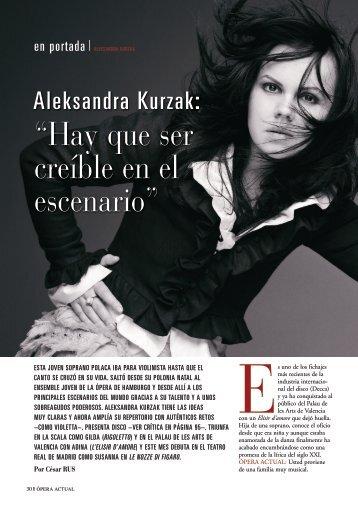 """""""Hay que ser creíble en el escenario"""" - Revistas Culturales"""