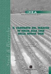 Il comparto del tabacco in Italia alla luce della nuova OCM - Inea