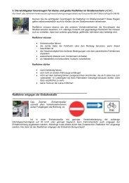 Die wichtigsten Grundregeln für kleine und große Radfahrer im ...