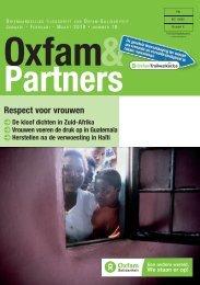 Oxfam&Partners 18 - Respect voor vrouwen - Oxfam-Solidariteit
