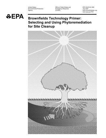 Phytoremediation Primer - Carmelacanzonieri.com