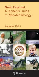 View the PDF - Center for Food Safety