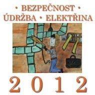 Kalendář na rok 2012 - Výzkumný ústav bezpečnosti práce, v.v.i.