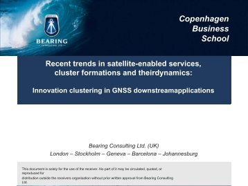 CBS & Bearing Consulting - Logo Workshop Satellite Services