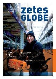 Zetes e-Globe 6 newsletter