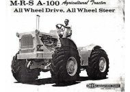 MRS Tractors