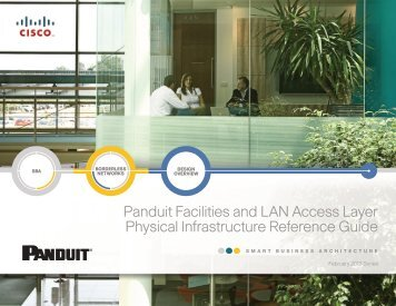 Cisco SBA Borderless Networks—Panduit Facilities and LAN ...