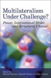 Multilateralism under challenge? - United Nations University
