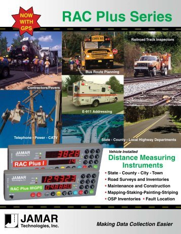 RAC Plus Series - JAMAR Technologies
