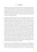 The long-term operating performance of European mergers and ... - Page 4