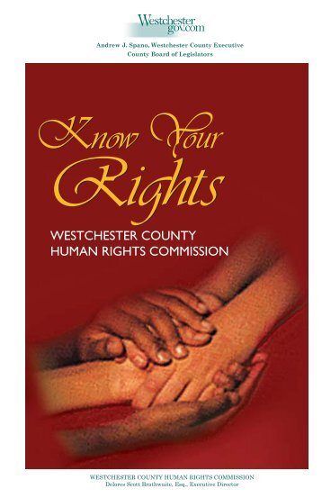 HRC Booklet - Westchester County Government