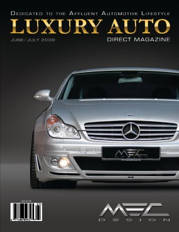 USA Luxury Auto Direct 6-7/2009 - MEC DESIGN