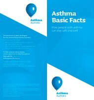 Asthma Basic Facts - Lung Foundation