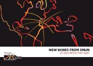 NEW WINES FROM SPAIN