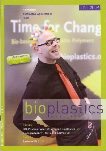 Bioplastics Magazine - Plastic Engineering Associates Licensing, Inc.
