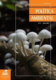 Política Ambiental Nº3 abril 2007 - Conservação Internacional