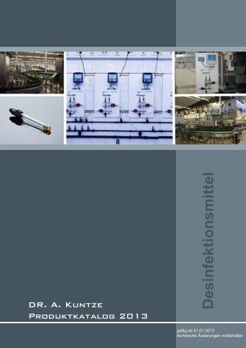 Desinfektionsmittel - Dr. A. Kuntze GmbH