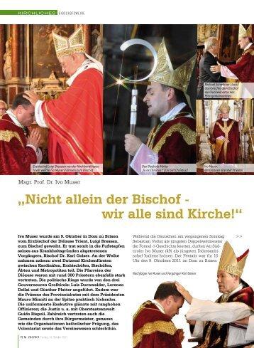 """""""Nicht allein der Bischof - wir alle sind Kirche!"""""""