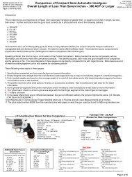 Comparison of Compact Semi-Automatic ... - Above Top Secret