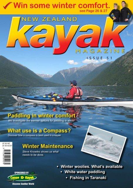 Win some winter comfort. - Canoe & Kayak