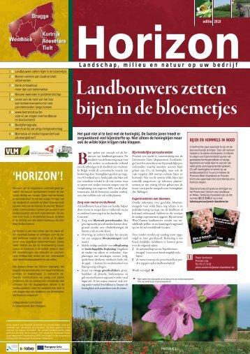 'HORIZON'! - Provincie West-Vlaanderen