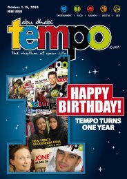 Happy BirtHday! - Tempoplanet
