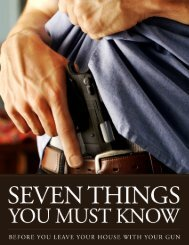 Table of Contents - US Concealed Carry