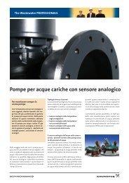 Pompe per acque cariche con sensore analogico - Grundfos E ...
