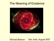 San José, August 2007 - Michael Beeson's Home Page