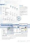 Produktübersicht 2014 - tousek GmbH - Page 3