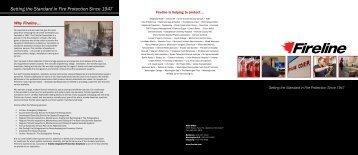 Brochure from Fireline Corp. - NFMT
