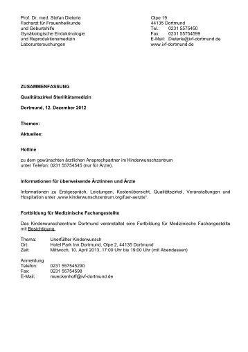 Prof. Dr. med. Stefan Dieterle Olpe 19 Facharzt für Frauenheilkunde ...