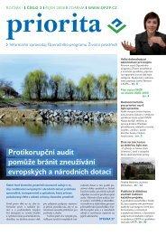 Priorita 03-2008.indd - Operační program Životní prostředí