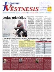 2012.gada 9.februāris Nr.6(242) - Jelgavas Vēstnesis