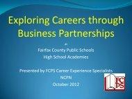 Exploring Careers through Business Partnerships - NCPN