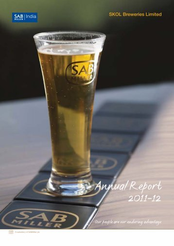 Annual Report 2011-12 - SABMiller India