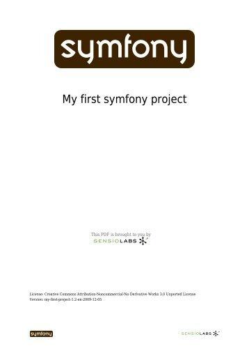 My first symfony project - Mesurex
