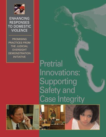 Pretrial Innovations: Supporting Safety and Case Integrity - Batterer ...