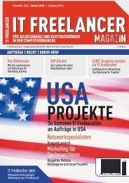 IT Freelancer Magazin Nr. 6/2005