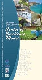 Center of Excellence Model - Sea Grant College Program