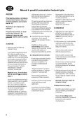 Ford Mondeo Turnier D Montage- und Betriebsanleitung Návod k ... - Page 6