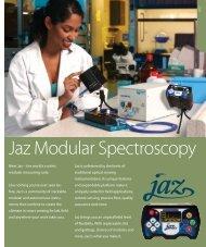 Jaz Modular Spectroscopy - NDN
