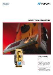 promet la nouvelle série GPT-9000A - Topcon Positioning