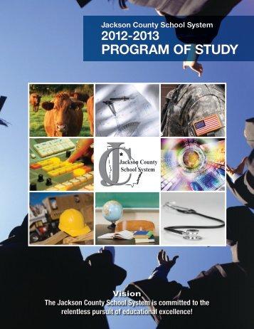 PROGRAM OF STUDY - Jackson County Schools